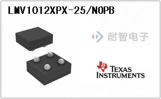 LMV1012XPX-25/NOPB