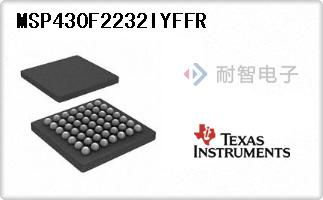MSP430F2232IYFFR