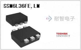 Toshiba公司的FET - 阵列-SSM6L36FE,LM