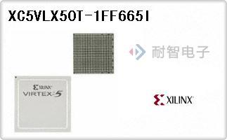 XC5VLX50T-1FF665I