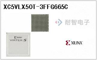 XC5VLX50T-3FFG665C
