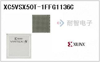 XC5VSX50T-1FFG1136C