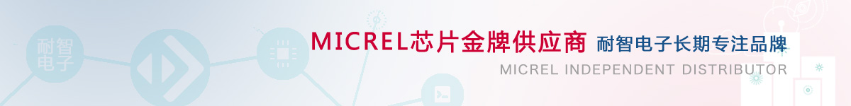耐智电子是Micrel公司在中国的代理商