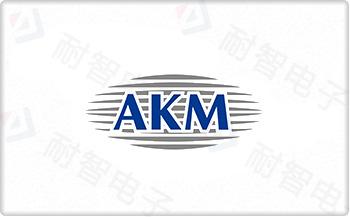 AKM公司的LOGO