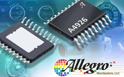 Allegro公司日前宣布扩展其微步电动机驱动器系列
