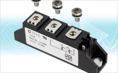 IXYS:将导通损耗降到最低,并能提高电源可靠性