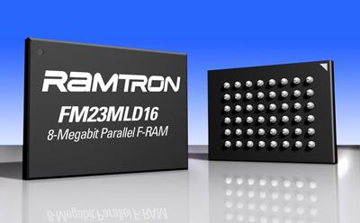 Ramtron宣布提供非易失性铁电 RAM (F-RAM)存储器的预认证样片